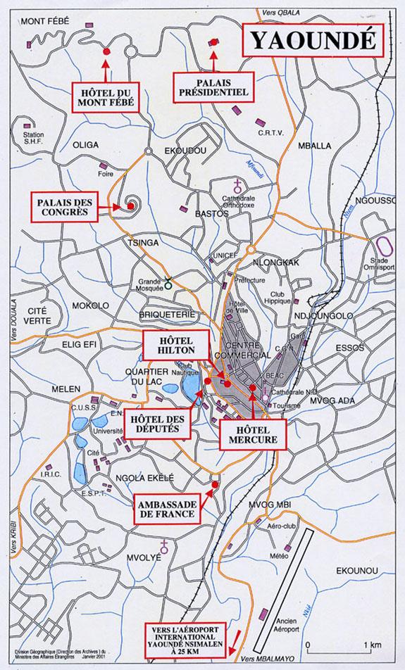 Plan Cadastral De La Ville De Douala