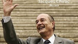 Former President Jacques Chirac has died